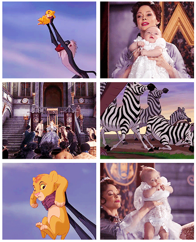 once upon a time the lion king
