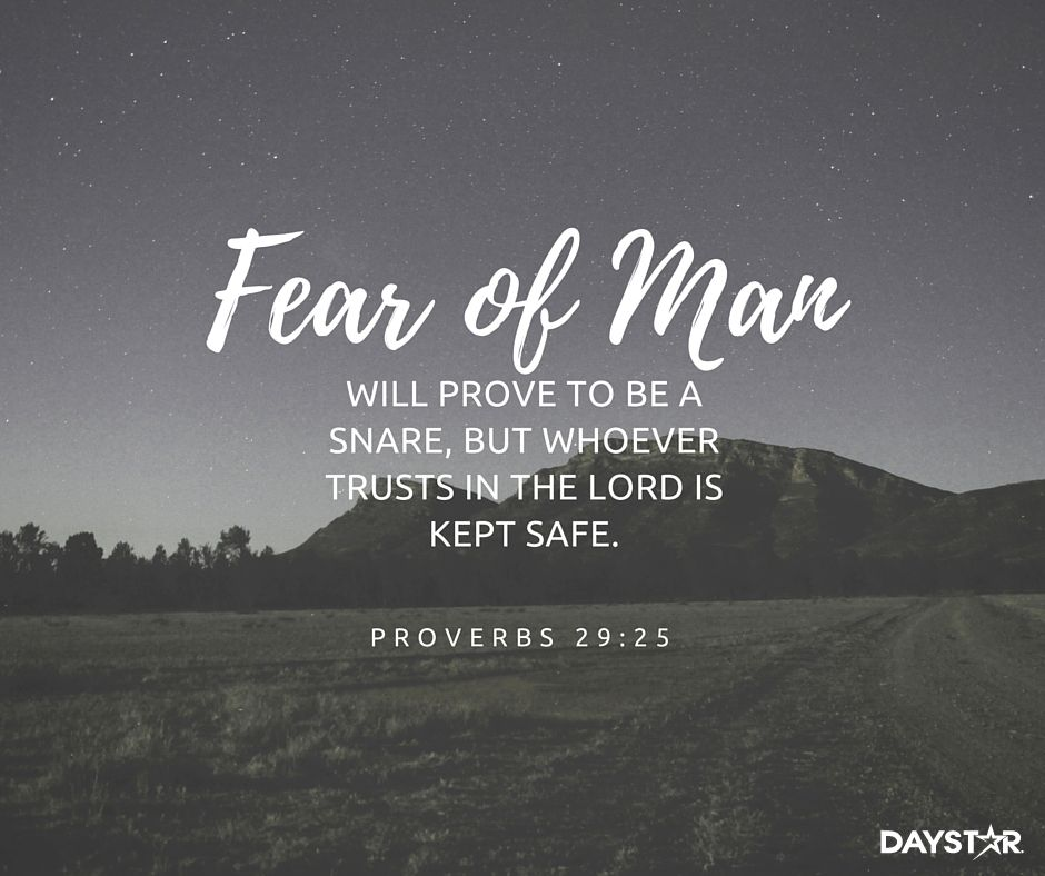 Image result for fear of man