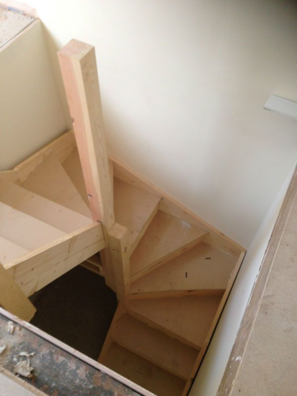 double kite winder staircases made to measure ext. Black Bedroom Furniture Sets. Home Design Ideas