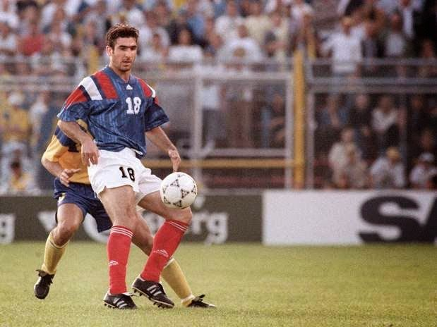 These are the detailed performance data of karriereende player eric cantona. Sweden 1 France 1 in 1992 in Stockholm. Eric Cantona in ...