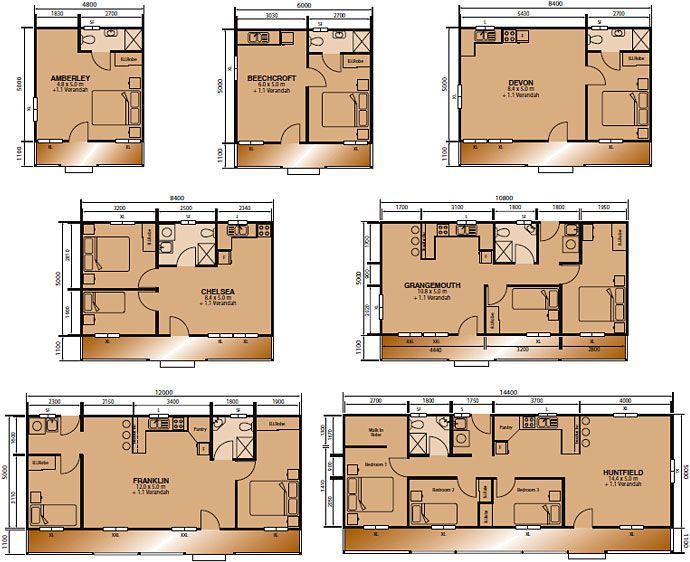 Floorplans From Classic Cabins Australia