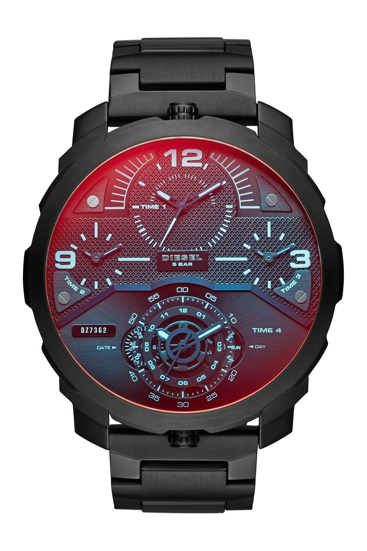 Diesel Men's Large Round Watch Diesel watch, Diesel