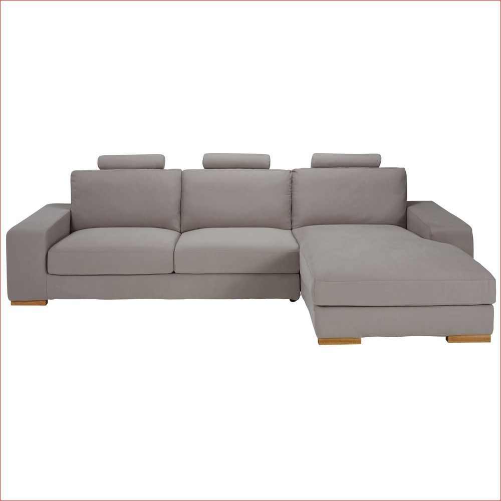 Canape D Angle Droit 5 Places En Tissu Taupe Daytona Canape5 In 2020 Home Furniture Couch