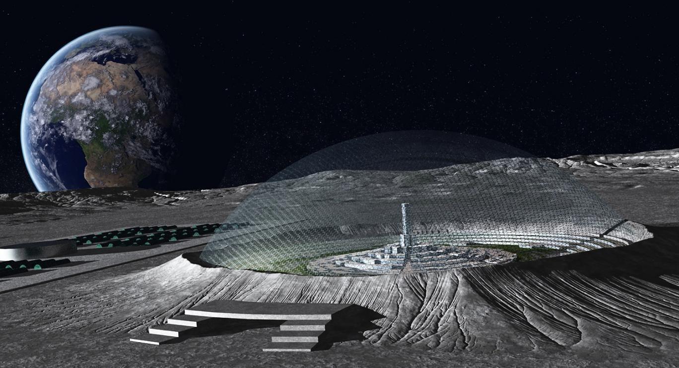 moon base concept art - photo #12