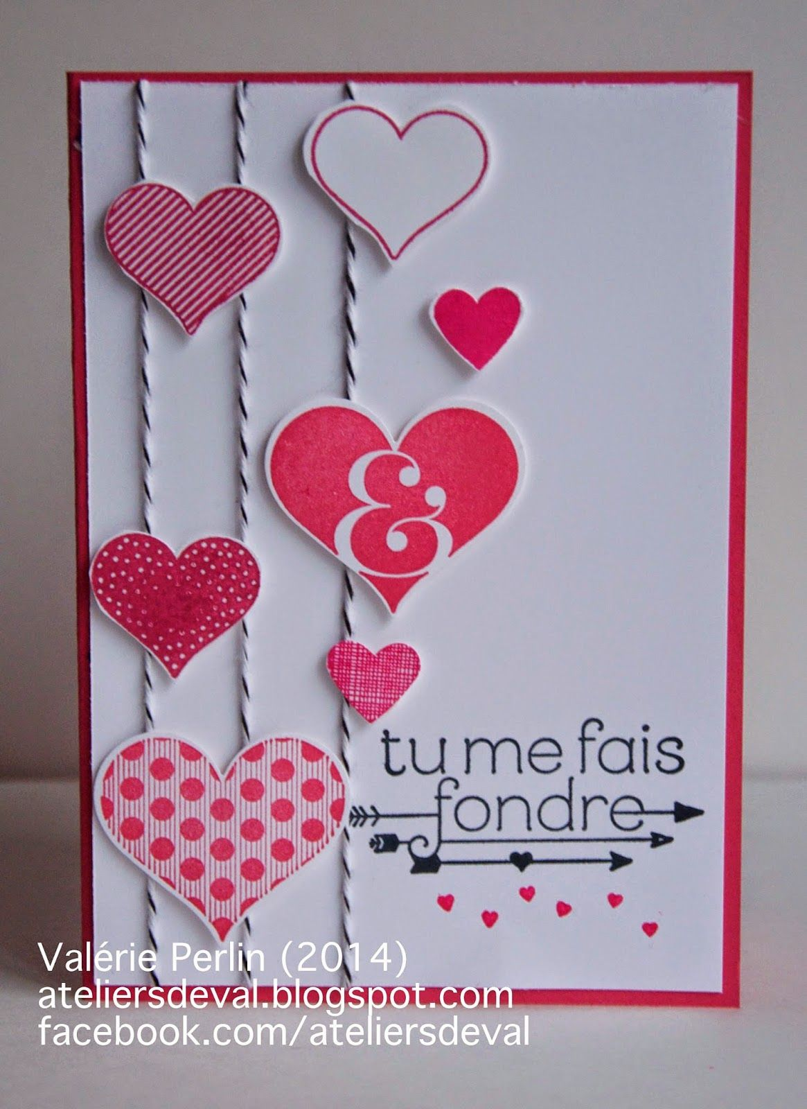 Best 25 carte de saint valentin ideas on pinterest - Carte st valentin a faire soi meme ...