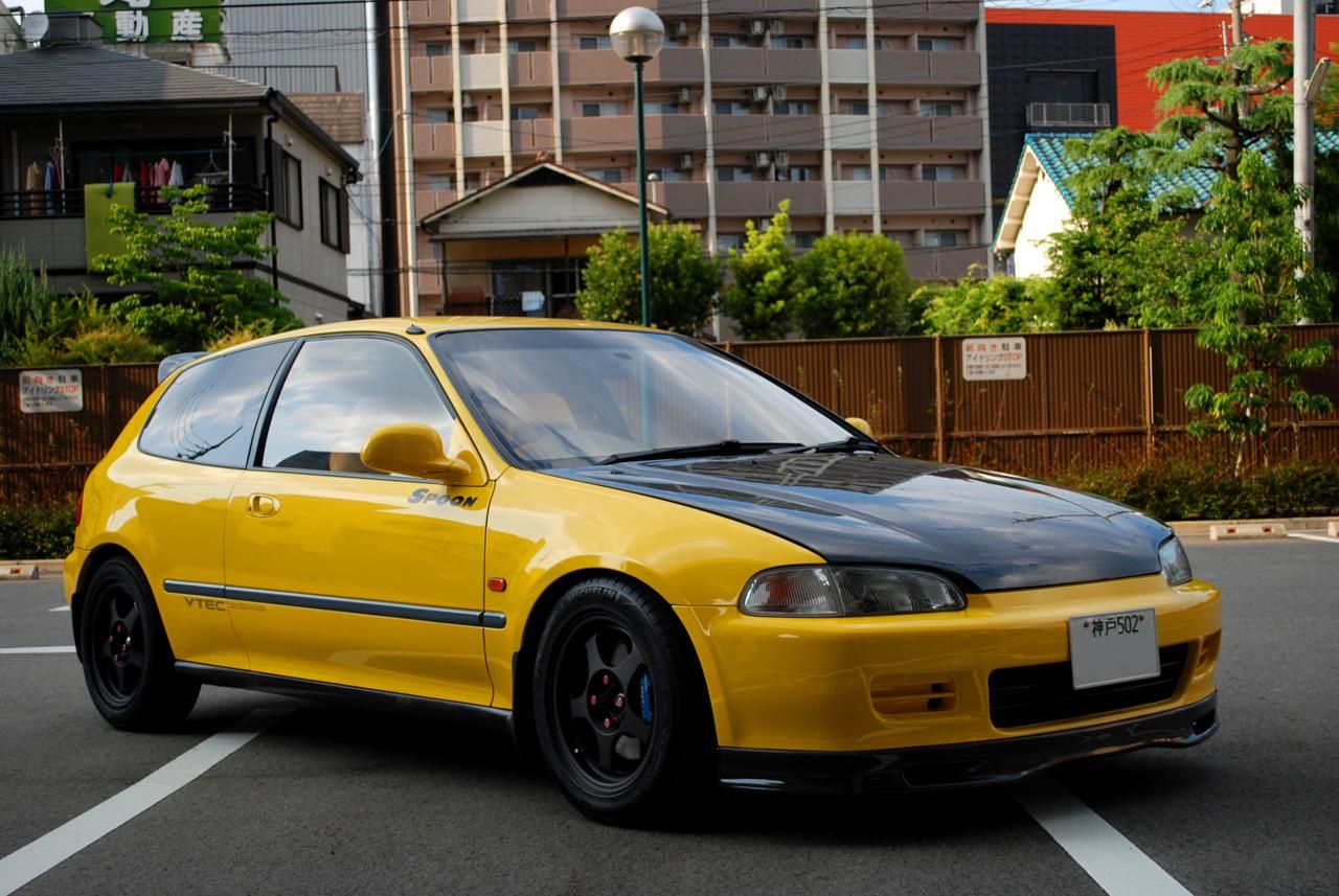 Spoon civic eg6 it would cost alot of money to drive this japan