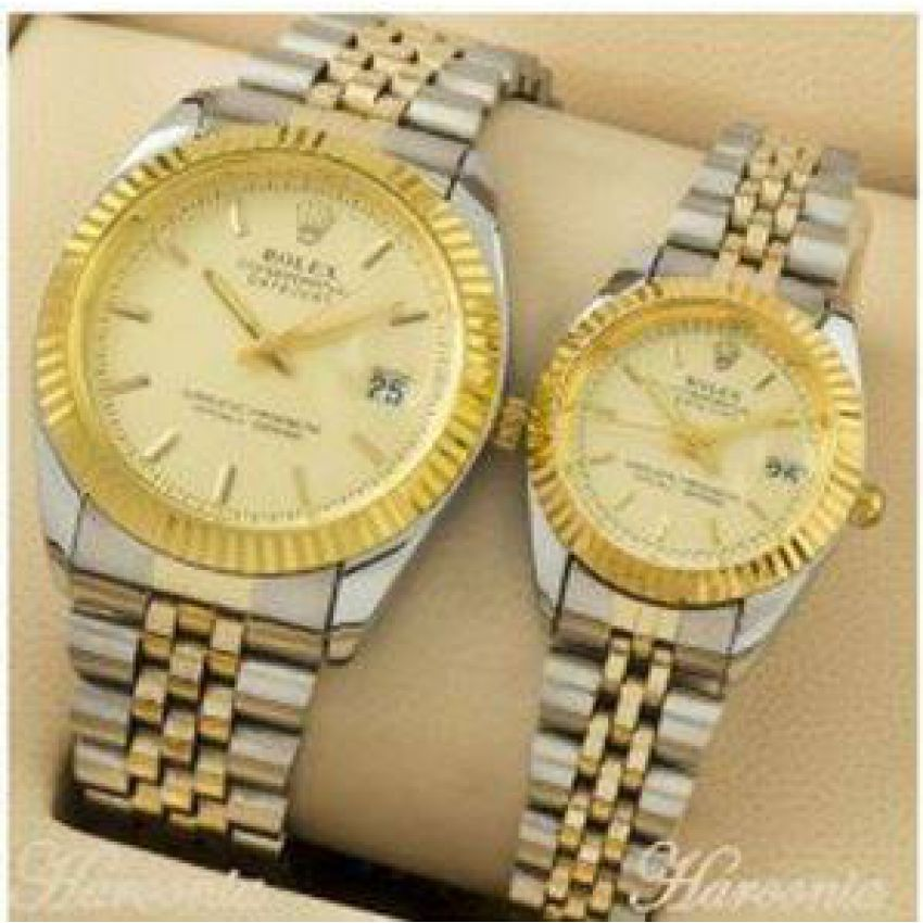 f0ec72b21c Buy Rolex Couples Wrist Watch online in Pakistan ✓ Kaymu.pk   gift ...