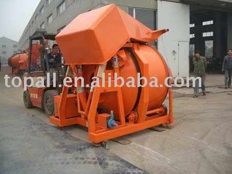 Export Mozambique Market Electroc Motor Concrete Mixer Jzc350