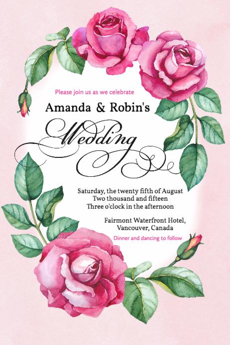 Free Wedding Invitations Maker Design Your Wedding Invitations Fr Free Wedding Invitation Templates Printing Wedding Invitations Wedding Invitation Templates
