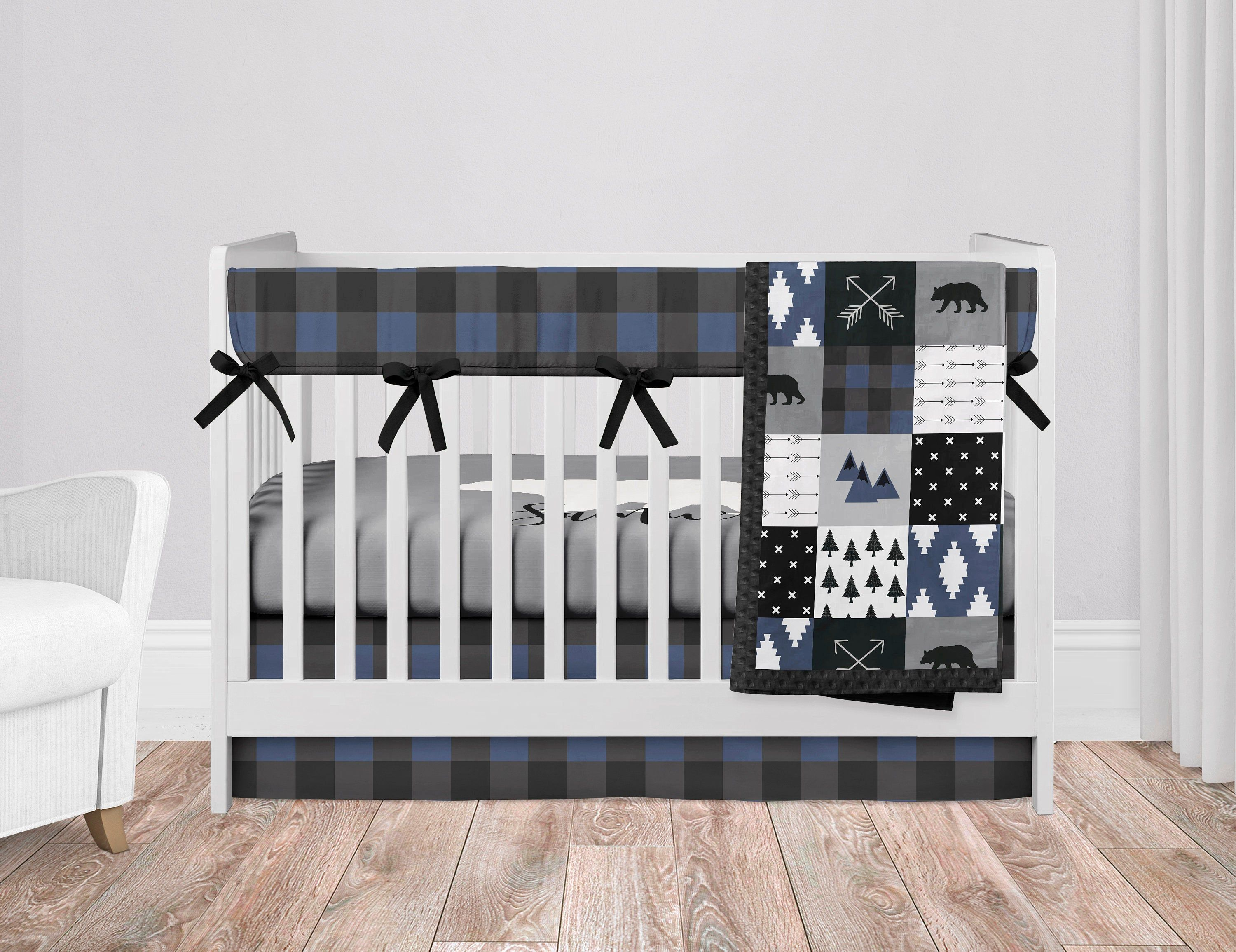 Woodland Nursery Bedding Set Baby Boy Crib Bedding Sets