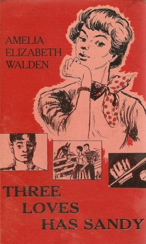 Three Loves Has Sandy By Amelia Elizabeth Walden 1955 Vintage