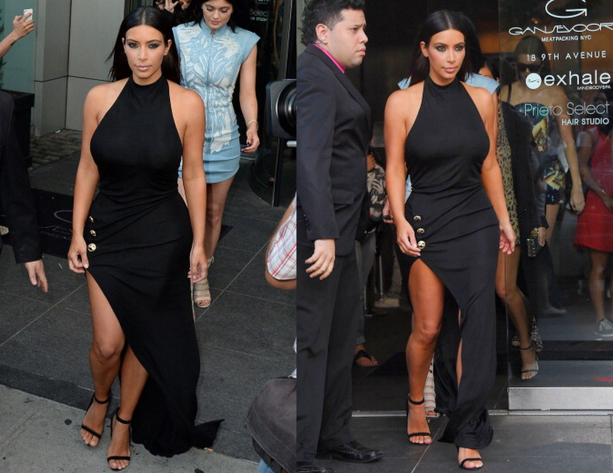 Dress black kim kardashian - Kim Kardashian In Balmain Khloe Kardashian 30th Birthday Celebrations E1403874983243 Jpg 2 000 1 545 Pixels Lbd Pinterest Balmain Paris Kim