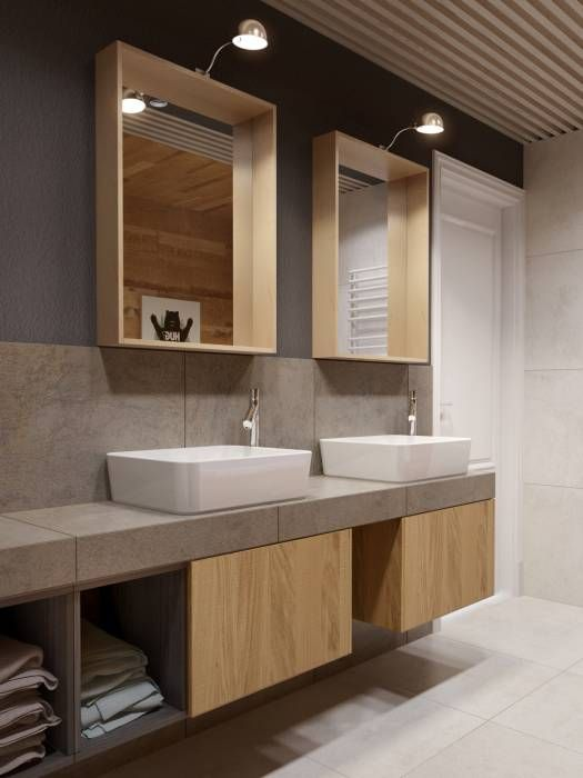 Photos de salle de bain de style de style minimaliste par