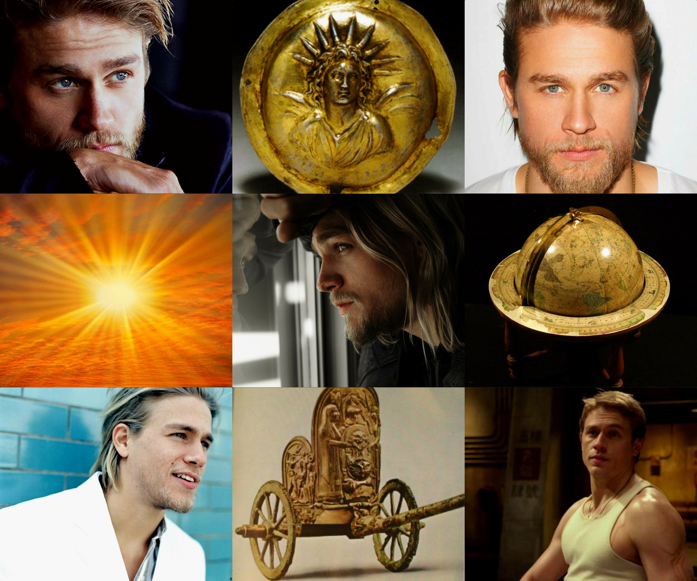 Charlie Hunnam As Helios Titan And Personification Of The Sun