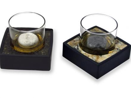 These Granite Coasters Go In The Freezer And Keep Your