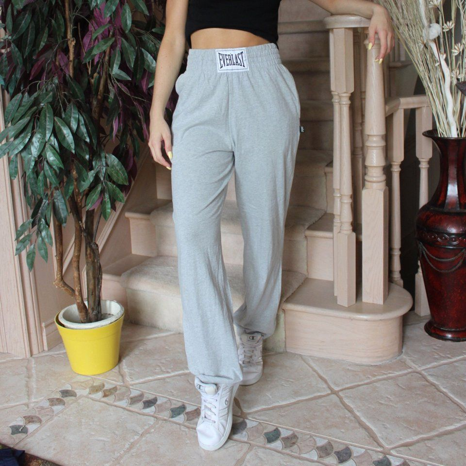 EVERLAST GREY SWEAT PANTS YASSS THESE ARE BOMB. SIZE SMALL