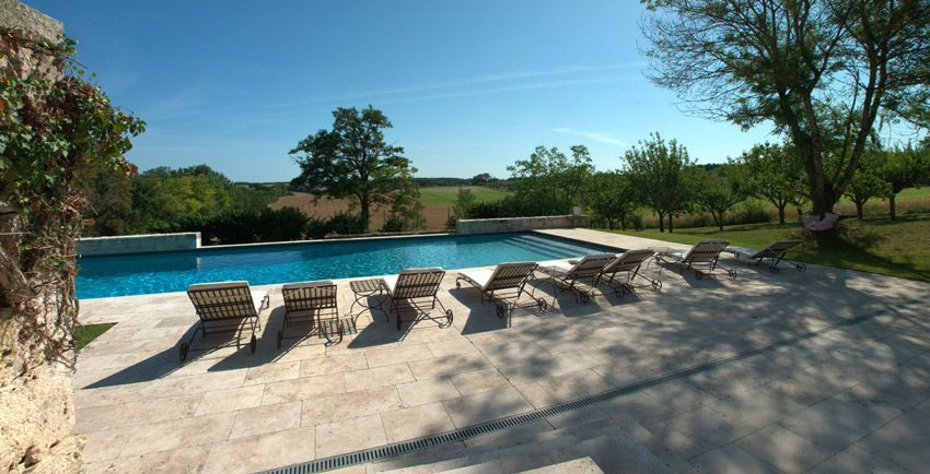 Holiday Rental Country Home In South West France With Private Heated Pool