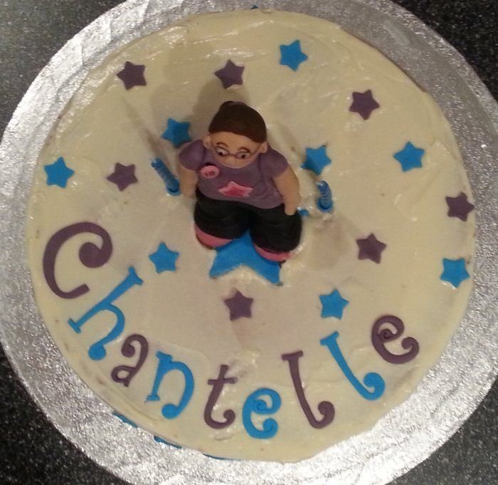 A birthday cake for 10 year old girl.