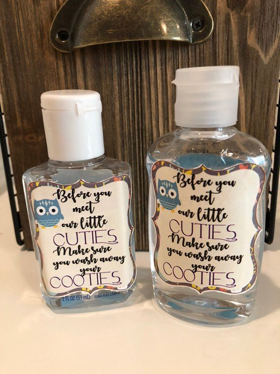 Purell Hand Sanitizer Labels 2 Oz Size Bottle First Holy