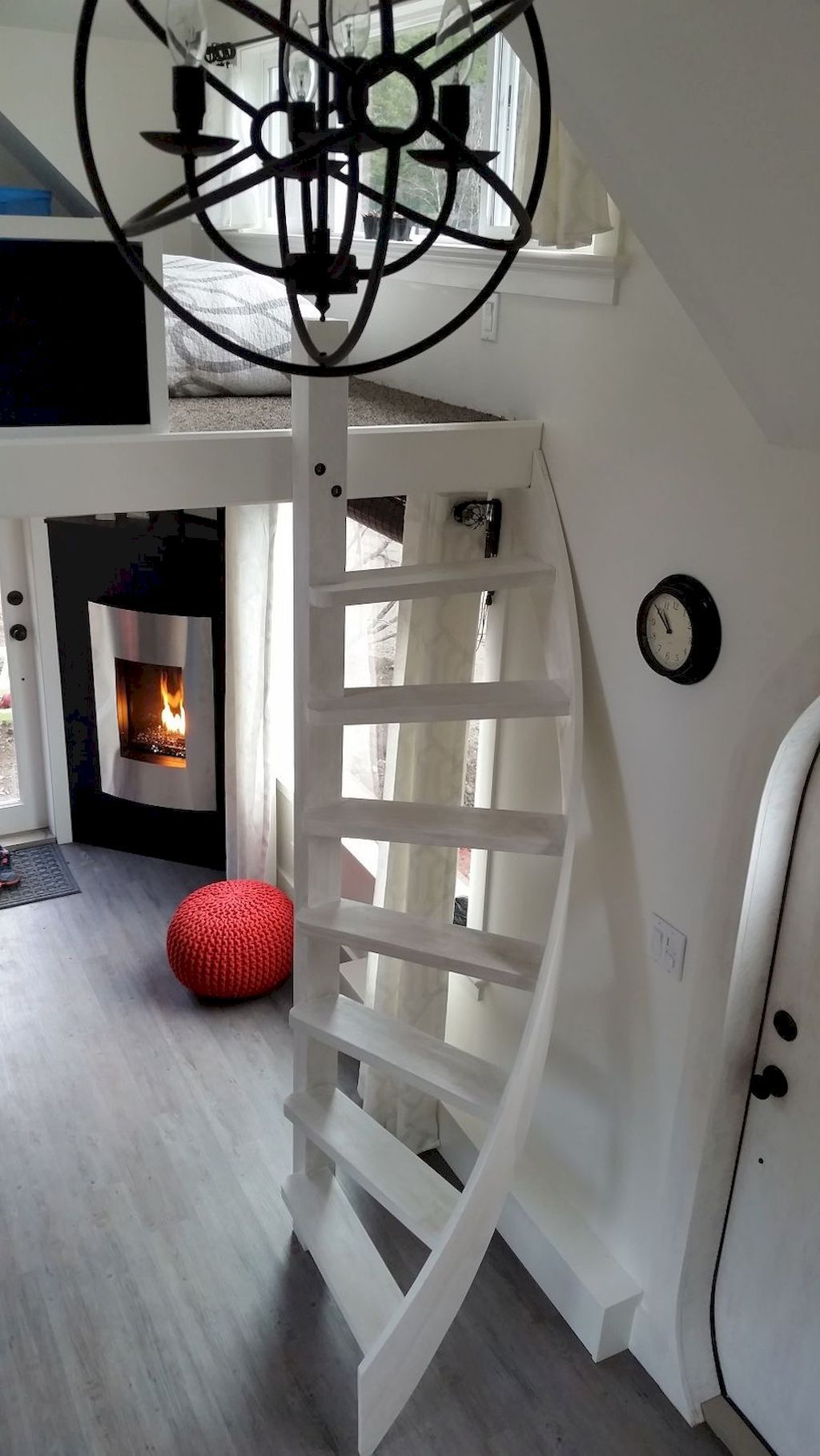 Best 80 Amazing Loft Stair For Tiny House Ideas Apartment 400 x 300