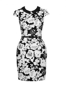 Review black with white flowers dress derby day floral fashion review black with white flowers dress derby day mightylinksfo