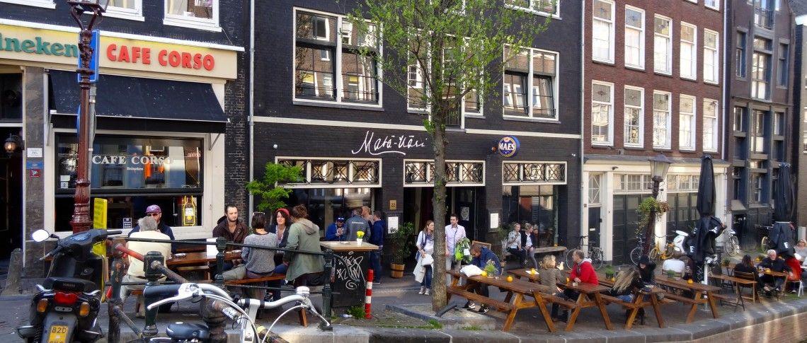 Terras bij mata hari op de wallen in amsterdam centrum for De veranda amsterdam