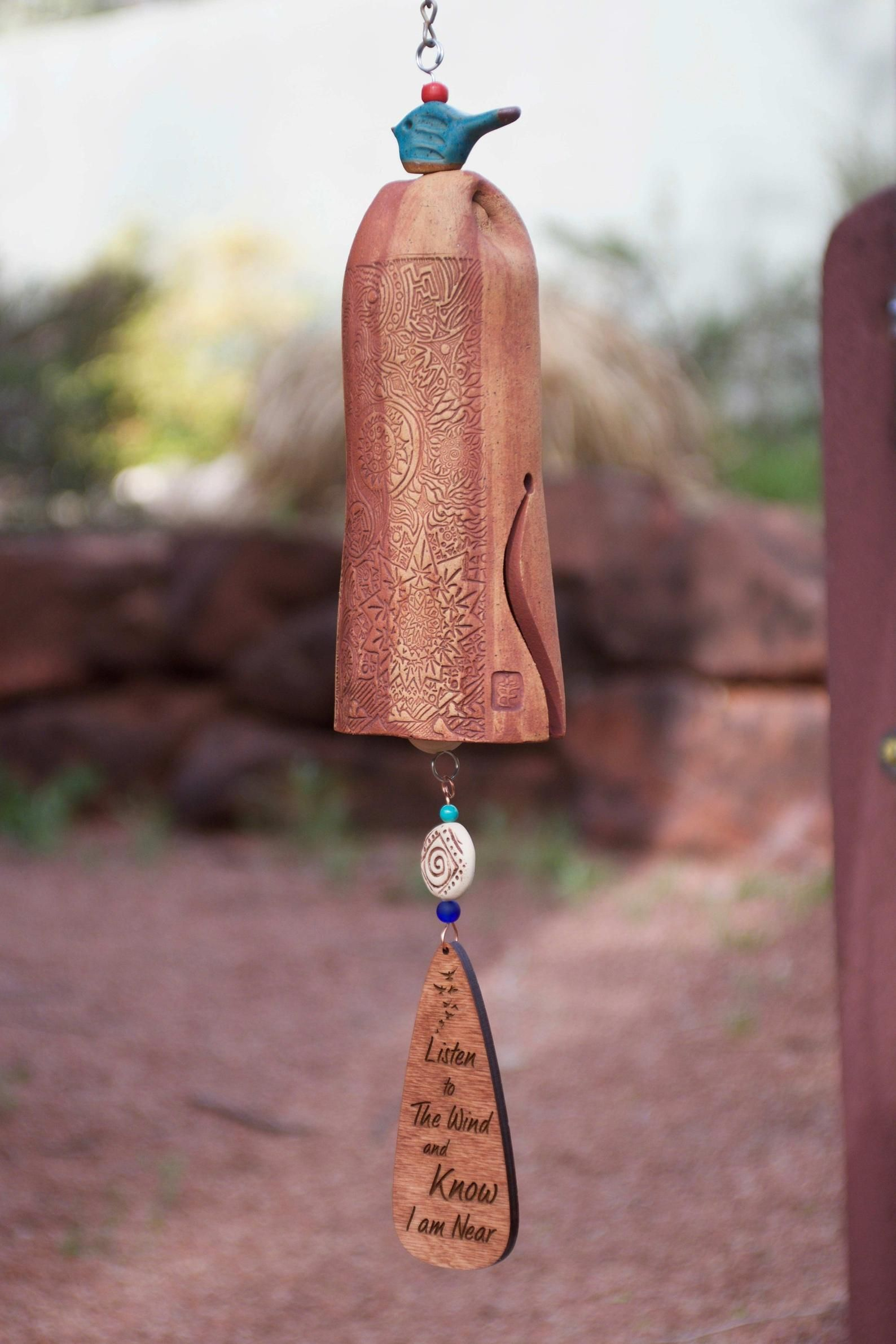 Memorial wind chimes personalized bereavement gift