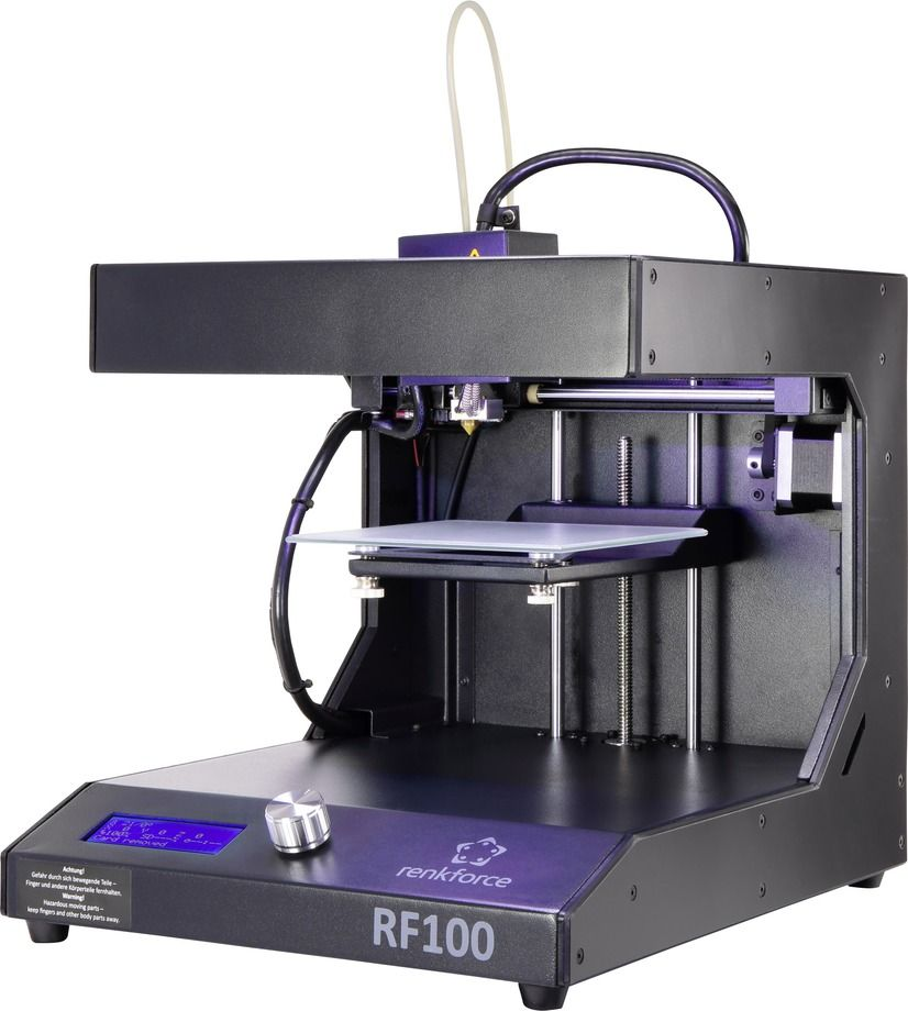 Renkforce RF100 XL V2 3D Drucker inkl. Filament 3d