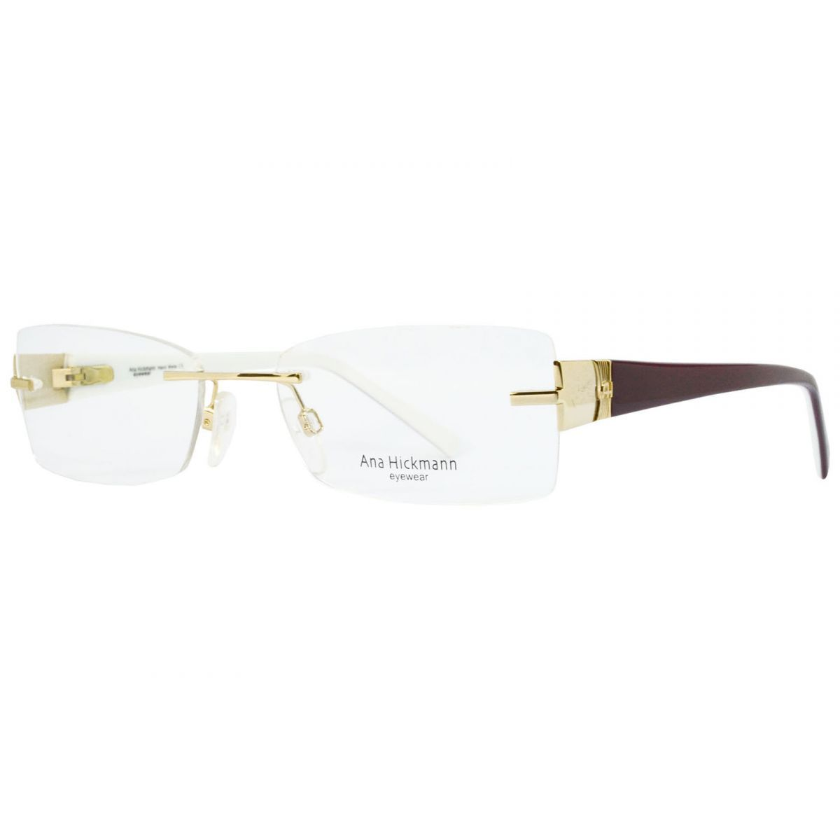 Oculos De Grau Feminino Ana Hickmann Ah1239 04a Tam 53 Oculos De