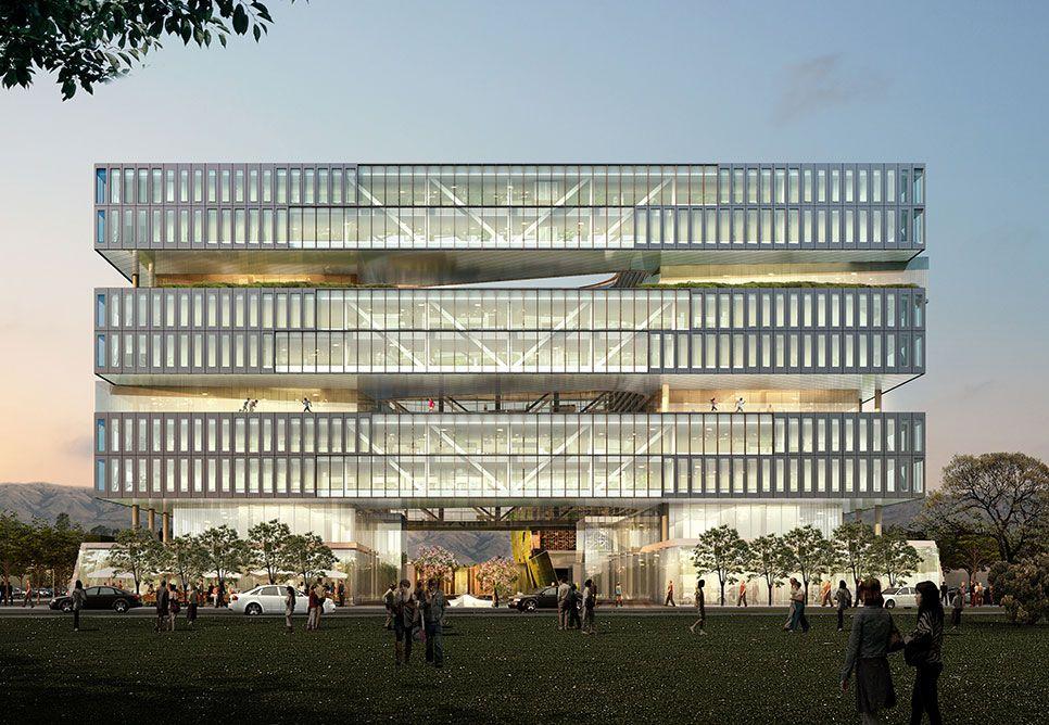 삼성의 실리콘밸리 신사옥이 보여주는 기업 문화 정면 건축, 건물전면, 건축가