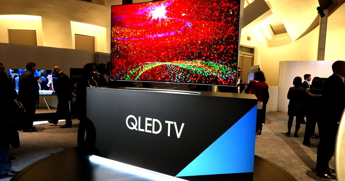 QLED and OLED may have similar names, but they're totally