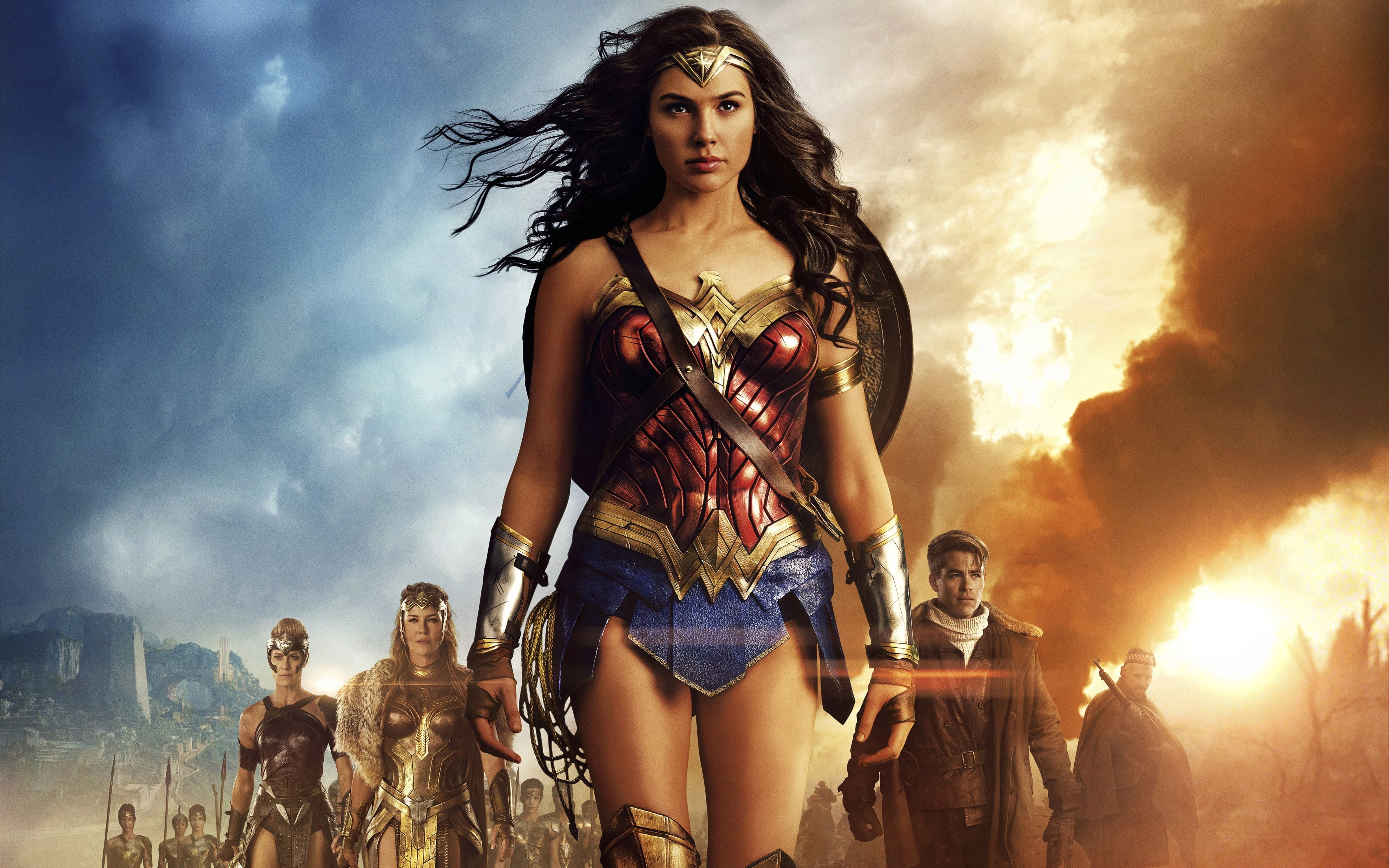3840x2400 Wonder Woman 4k Hd Desktop Background Wallpaper Gal Gadot Wonder Woman Wonder Woman Movie Wonder Woman