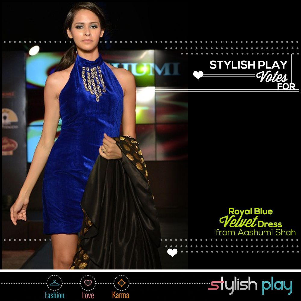 Royal blue a colour that makes you fall in love because of itus