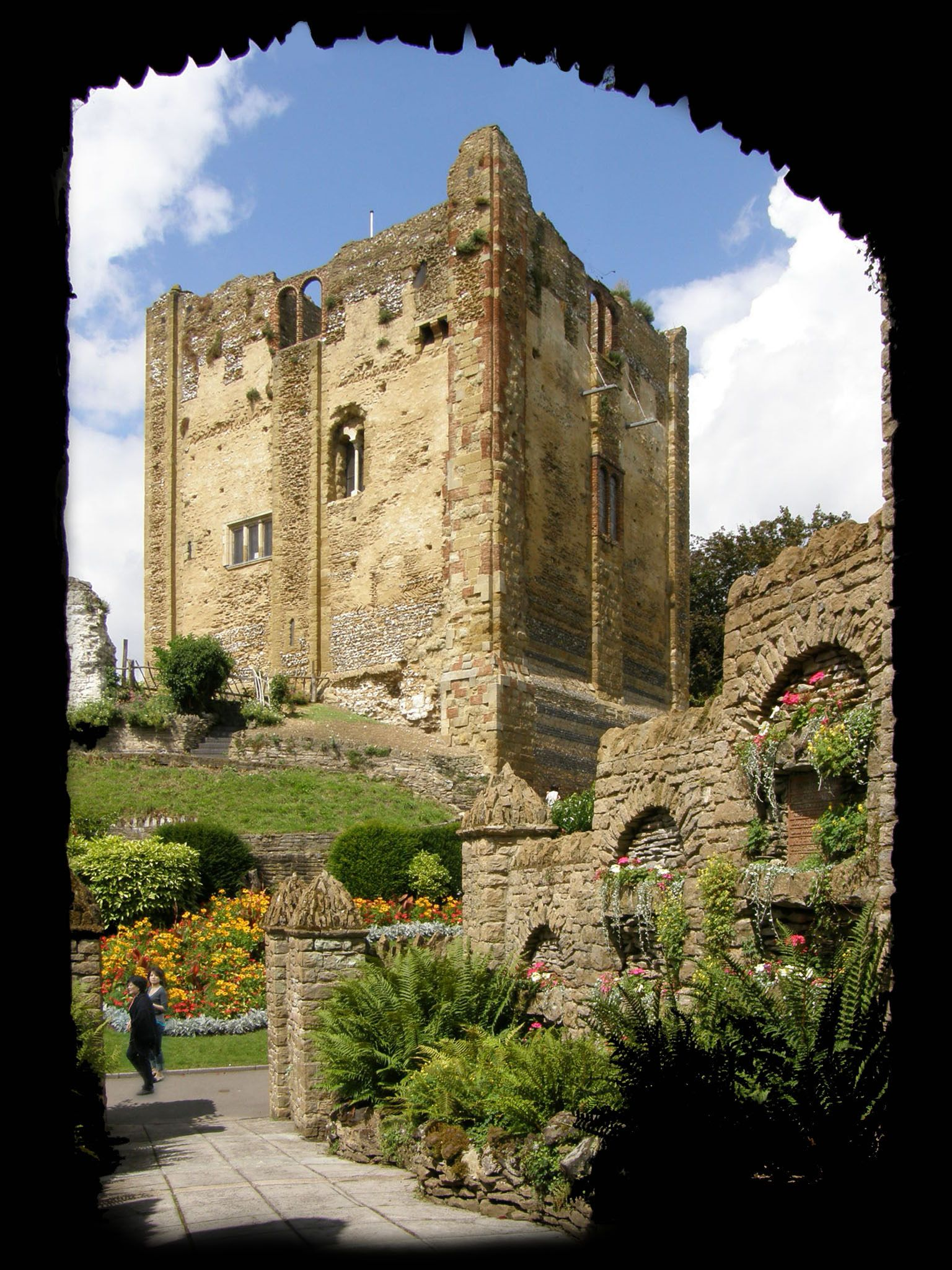 Guildford Castle and Museum Castle Arch ~ Guildford, Surrey, England