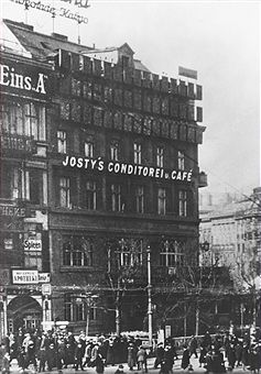 Café Eins A Cafe Josty Am Pariser Platz C1920 Berlin Unter