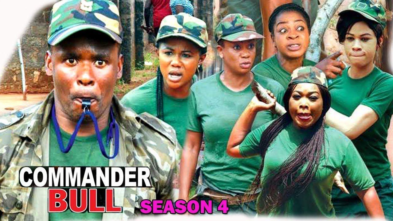 Commander Bull Season 4 Zubby Michael 2017 Newest Nigerian Movie Latest Nollywood Movie Full Hd Season 4 Comedy Baseball Cards