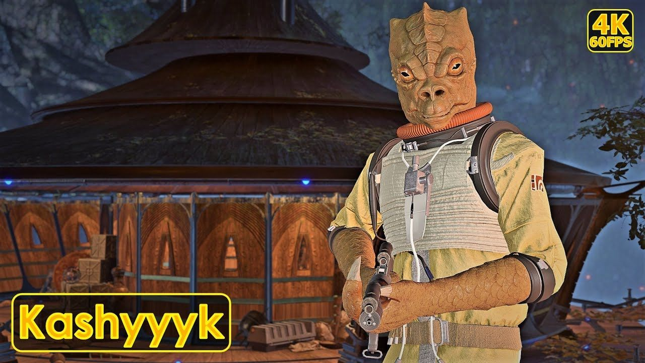 Star Wars Battlefront 2 Back On Kashyyyk With Bossk
