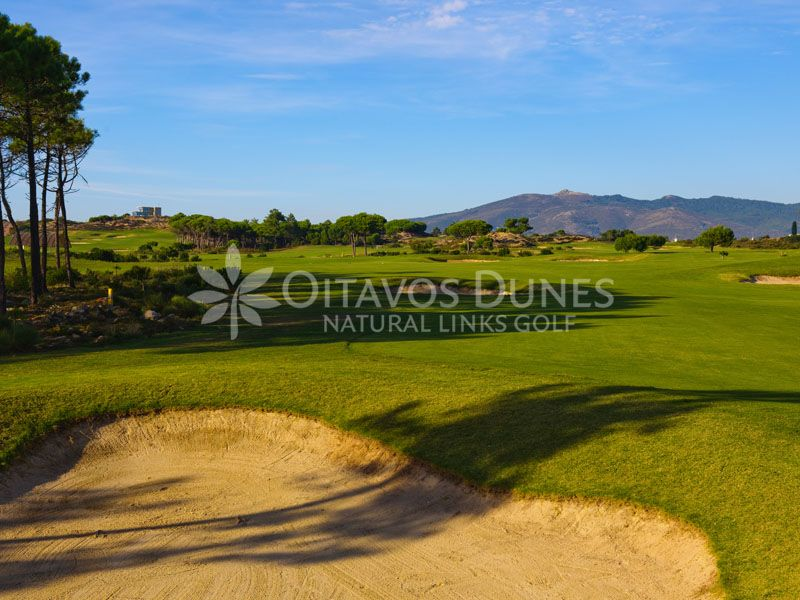 Hole 5 Oitavos Dunes Natural Links Golf Quinta Da Marinha Cascais Portugal Copyright C Oitavos Dunes Luxury Golf Holidays Portugal Golf Resorts Portug Mit Bildern