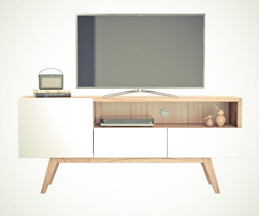 Mueble escandinavo decoraci n del hogar pinterest tv for Hogar del mueble