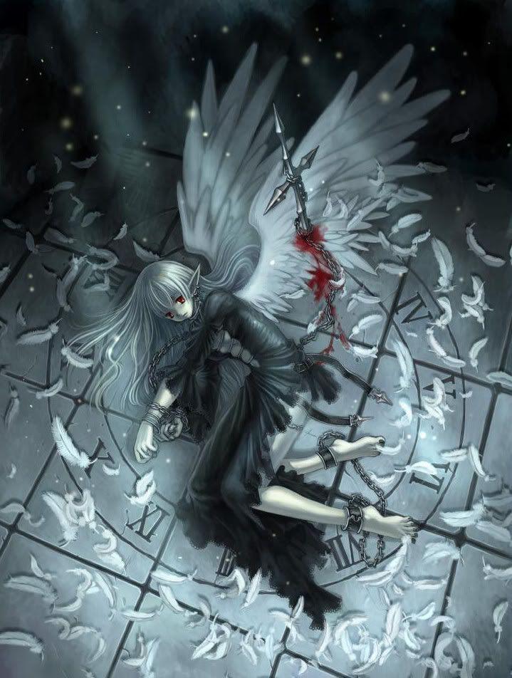 Fallen Elf Angel Anime Angel Girl Anime Angel Anime