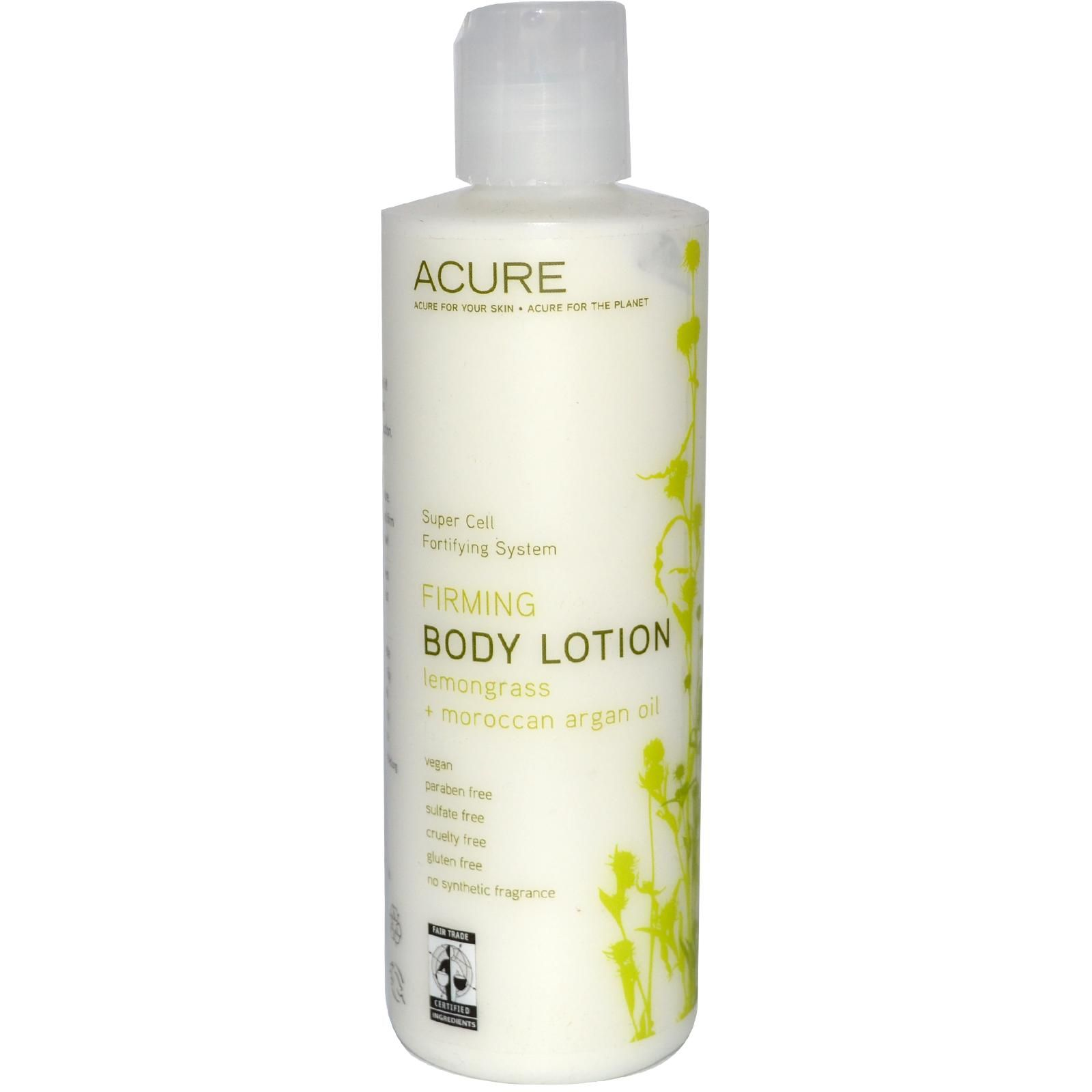 Acure Organics, Firming Body Lotion, Lemongrass + Moroccan