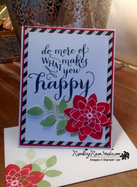 What Makes You Happy...details @Ramblingrosestudio.com
