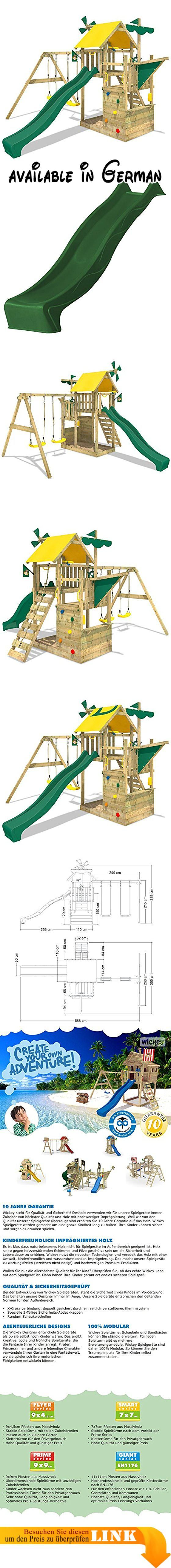 WICKEY Kletterturm Smart Sail Spielturm Klettergerüst mit ...