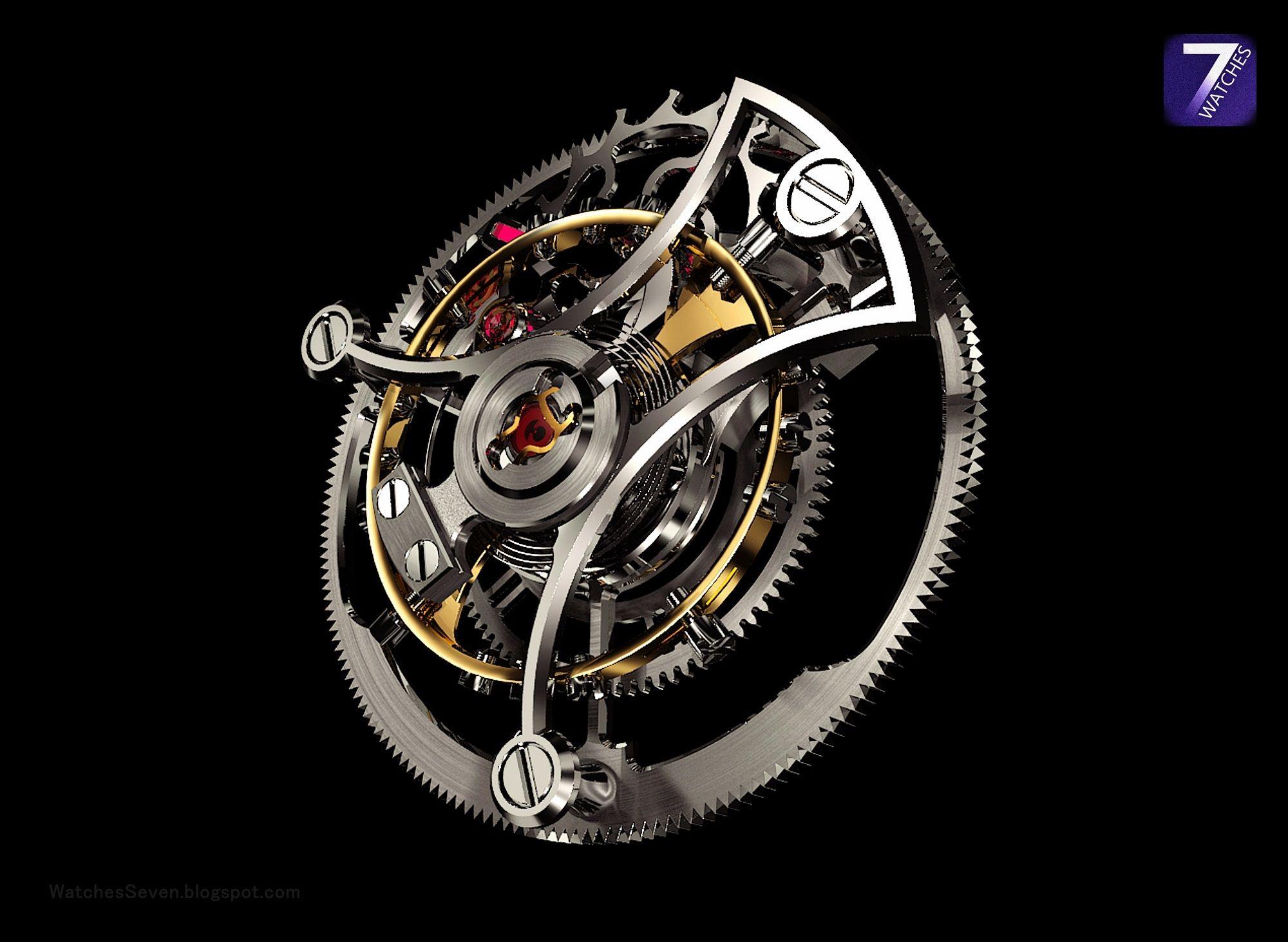 AkriviA - Tourbillon Monopusher Chronograph  (Caliber AA-01)