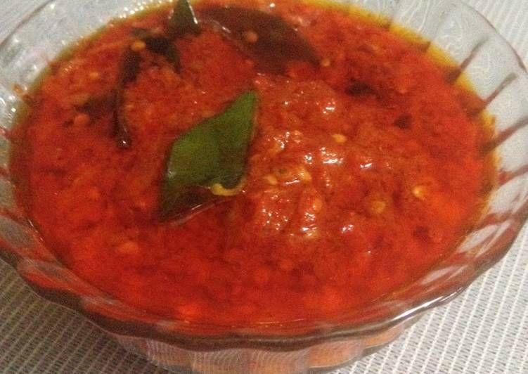 Resep Sambal Goreng Daun Jeruk Oleh Dewi Dapur Resep Makanan Vegan Jeruk Resep