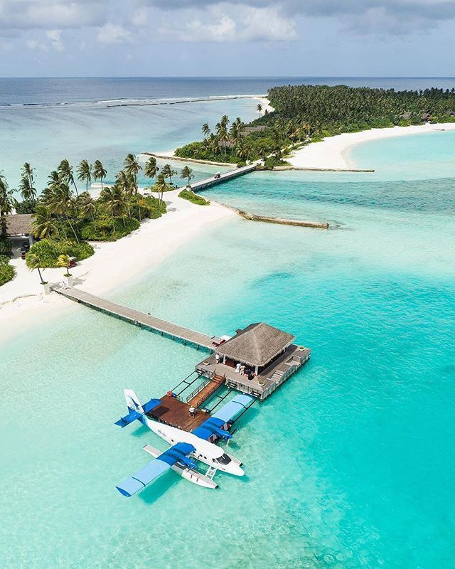 Seaplane Ride To A Private Island Credit: @seefromthesky