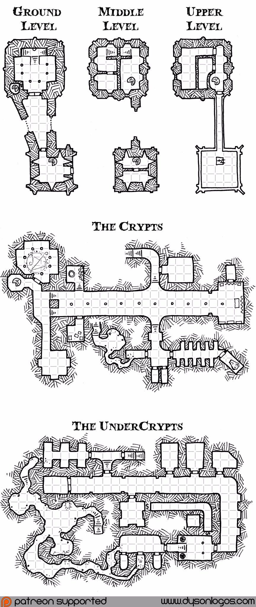 Pin von Nadiamion LP auf RPG Maps Dungeonkarten