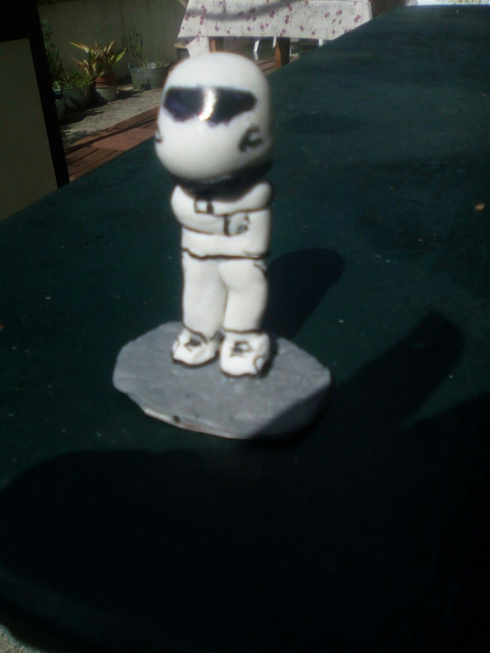 Stig of top gear fimo/clay #fimo #clay #creation #topgear #stig #car #voiture