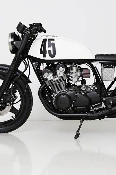 [ Honda CB750 KZ ] I wanna ride on this.