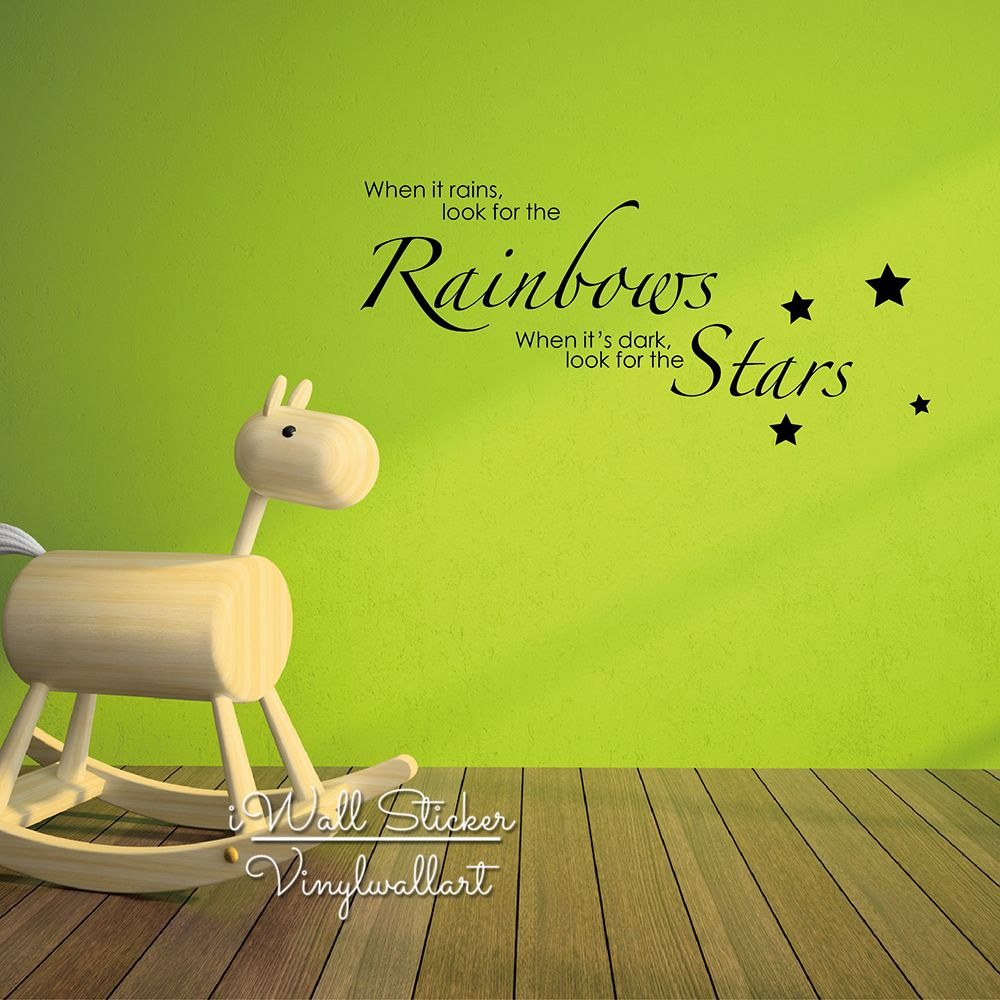 Baby nursery quote wall sticker children room quote wall decals baby nursery quote wall sticker children room quote wall decals inspirational wall quotes easy wall art amipublicfo Choice Image